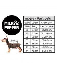 Size guide - Milk&Pepper