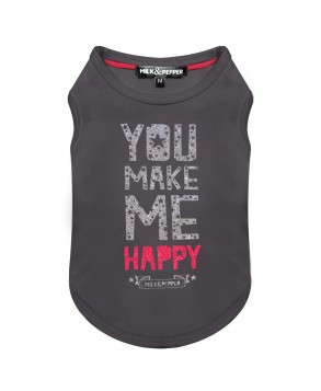 Happy T-Shirt for dogs - Milk&Pepper