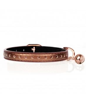 Copper Vega collar for cats - Milk&Pepper