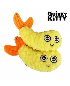 Kooky Tempura Shrimp Toy for cats - R2P Pet