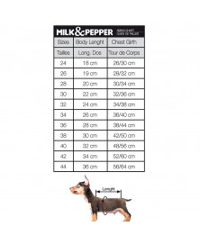 Dog sweatshirt Skipper - Milk&Pepper